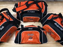 Team Duffle Bags