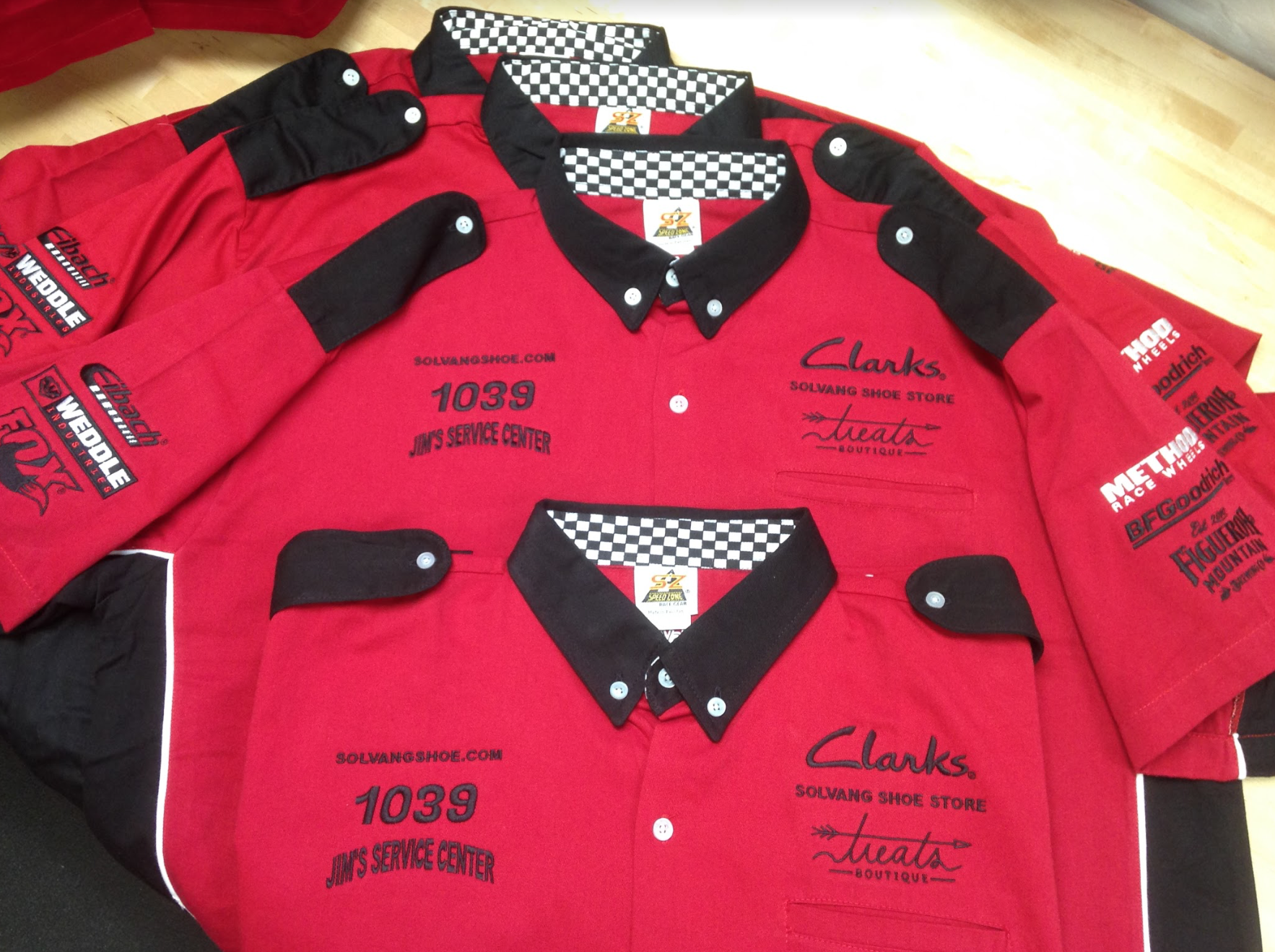 Racing Team Shirts