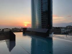 ANAHA amenity deck at Sunset