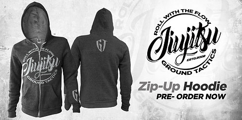 GT Zip-Up Hoodie ( Charcoal Grey )
