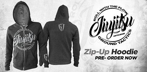 GT Zip-Up Hoodie ( Charcoal Grey )