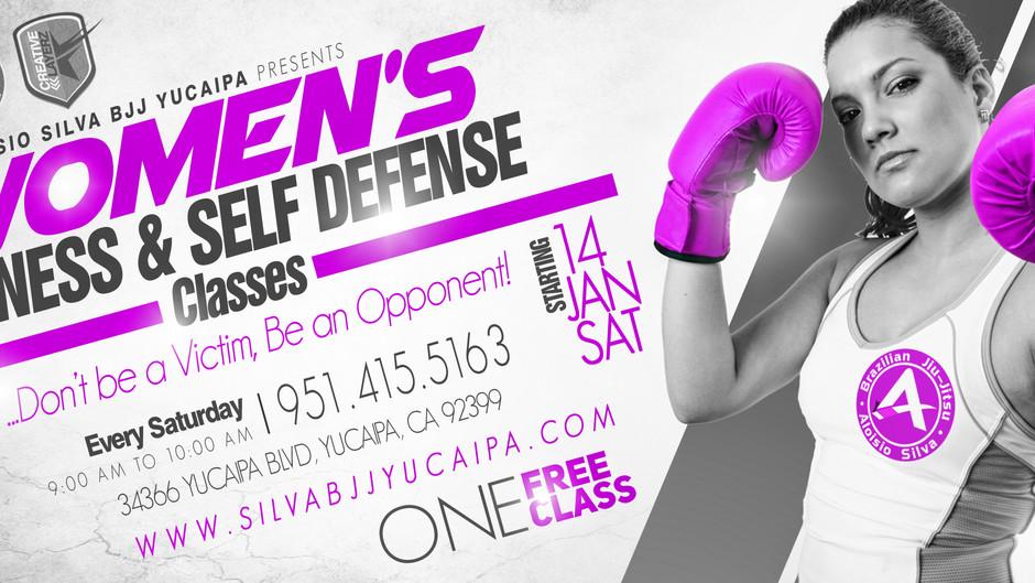 New Women's Self Defense Class