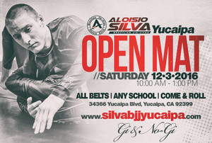 SILVA OPEN MAT IN YUCAIPA