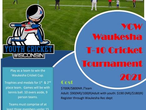 2nd Annual Waukesha Cup 2021 - Parent/Child Cricket tournament