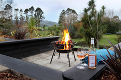 Fire pit to enjoy