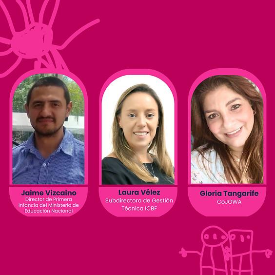 Panel: Hablemos de como está el retorno de los niños a las instituciones educativas en Colombia
