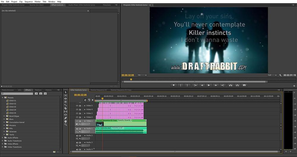 Killer Instincts lyrics video announcement