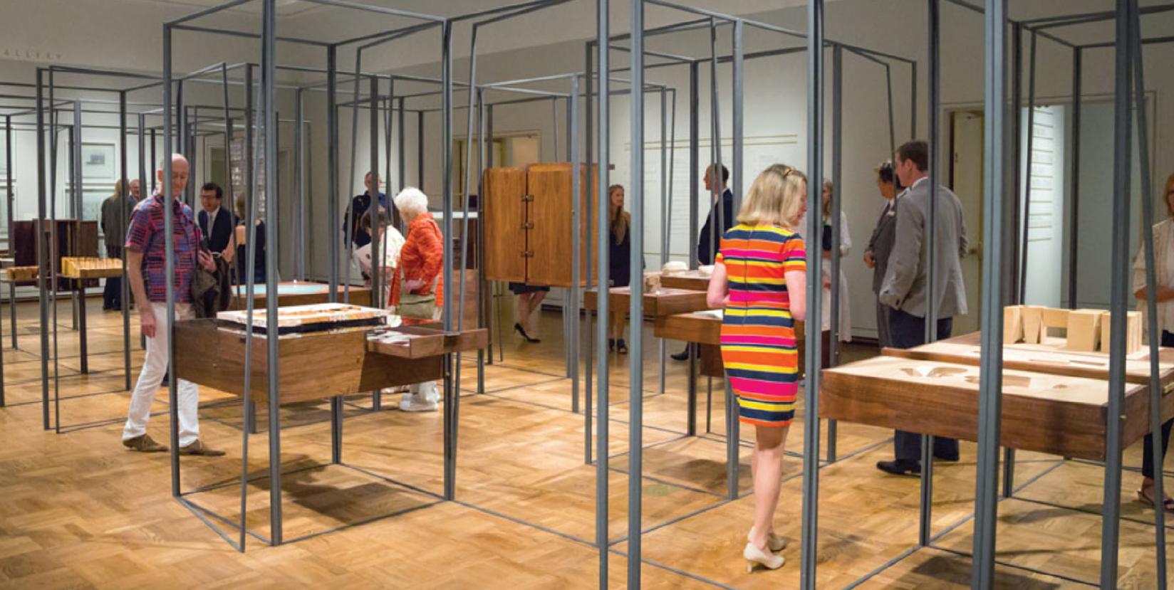 Case Work in Denver Art Museum Opening