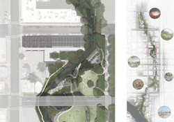 Site Plan & Waller Creek Master Plan By Van Valkenburgh Associates