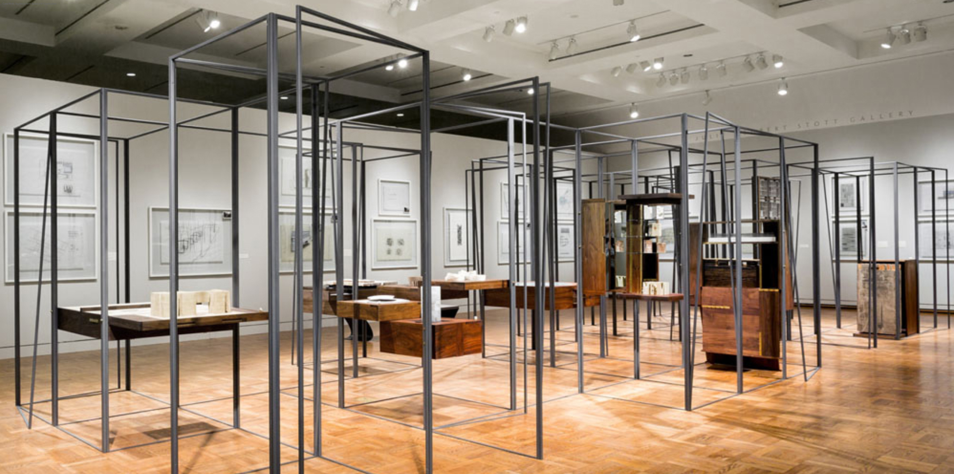Case Work in Denver Art Museum