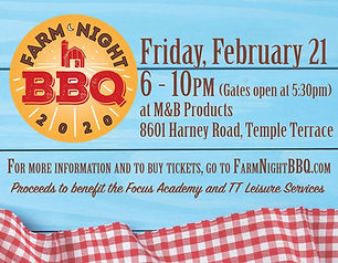 Farm Night BBQ info