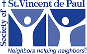 St. Vincent de Paul food pantry logo