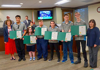 Temple Terrace City Council recognizes Focus Academy Transition Program students