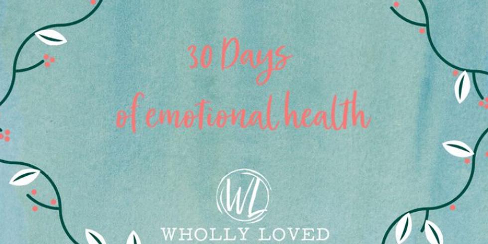 LGBTQ Study - 30 Days Of Emotional Health