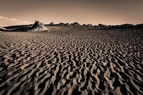 Areia e sombras