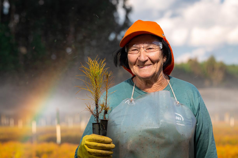 Retrato trabalhador rural