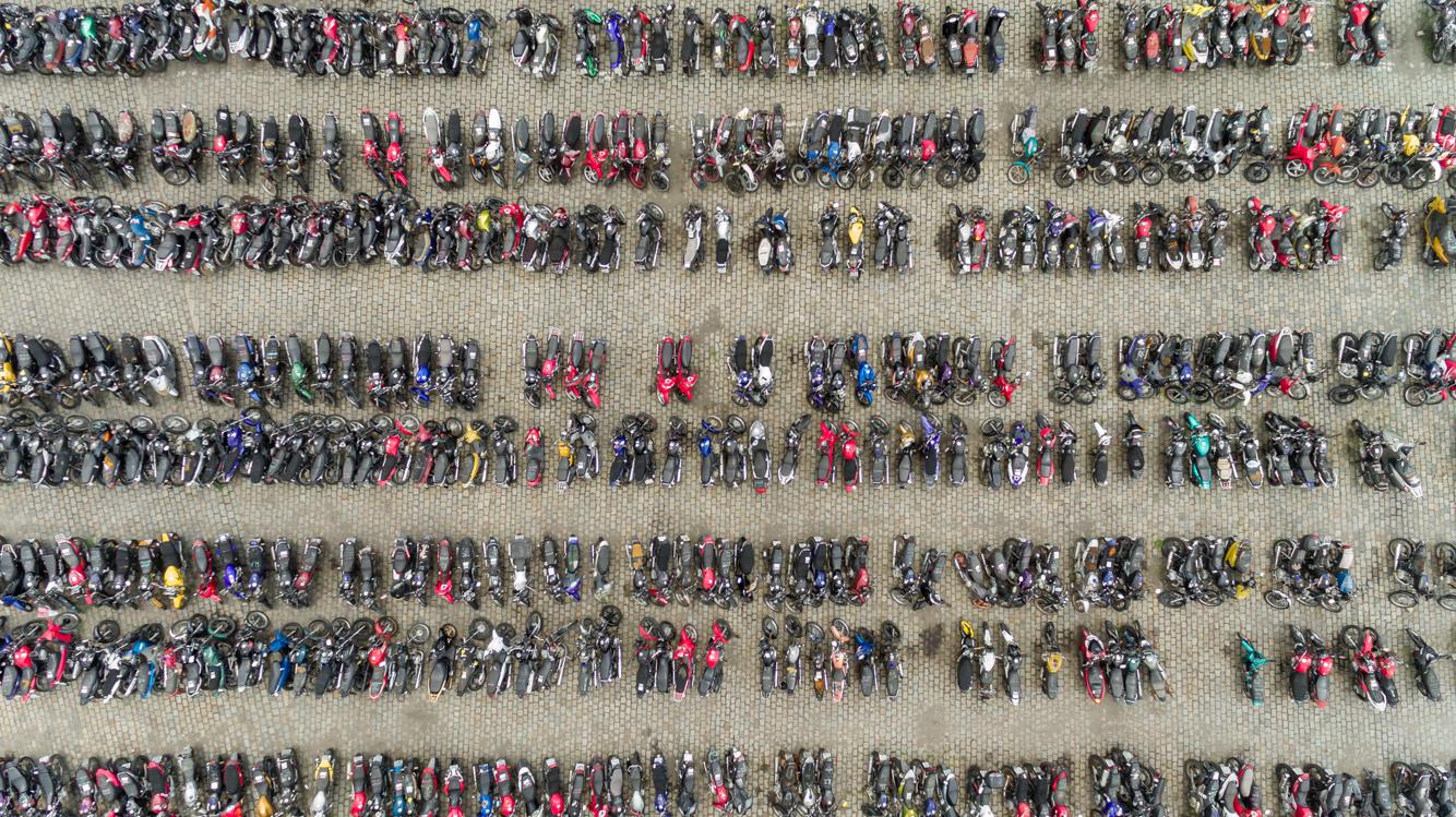 Imagem aérea com Drone