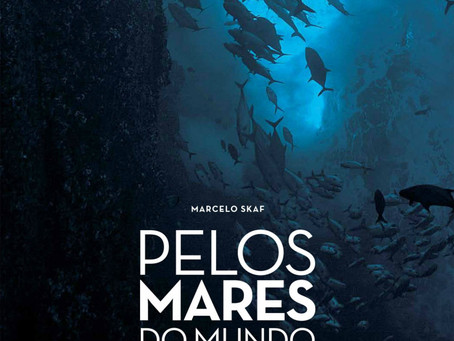 Marcelo Skaf, oceanógrafo e cinegrafista, lança seu livro com fotografias subaquáticas inéditas