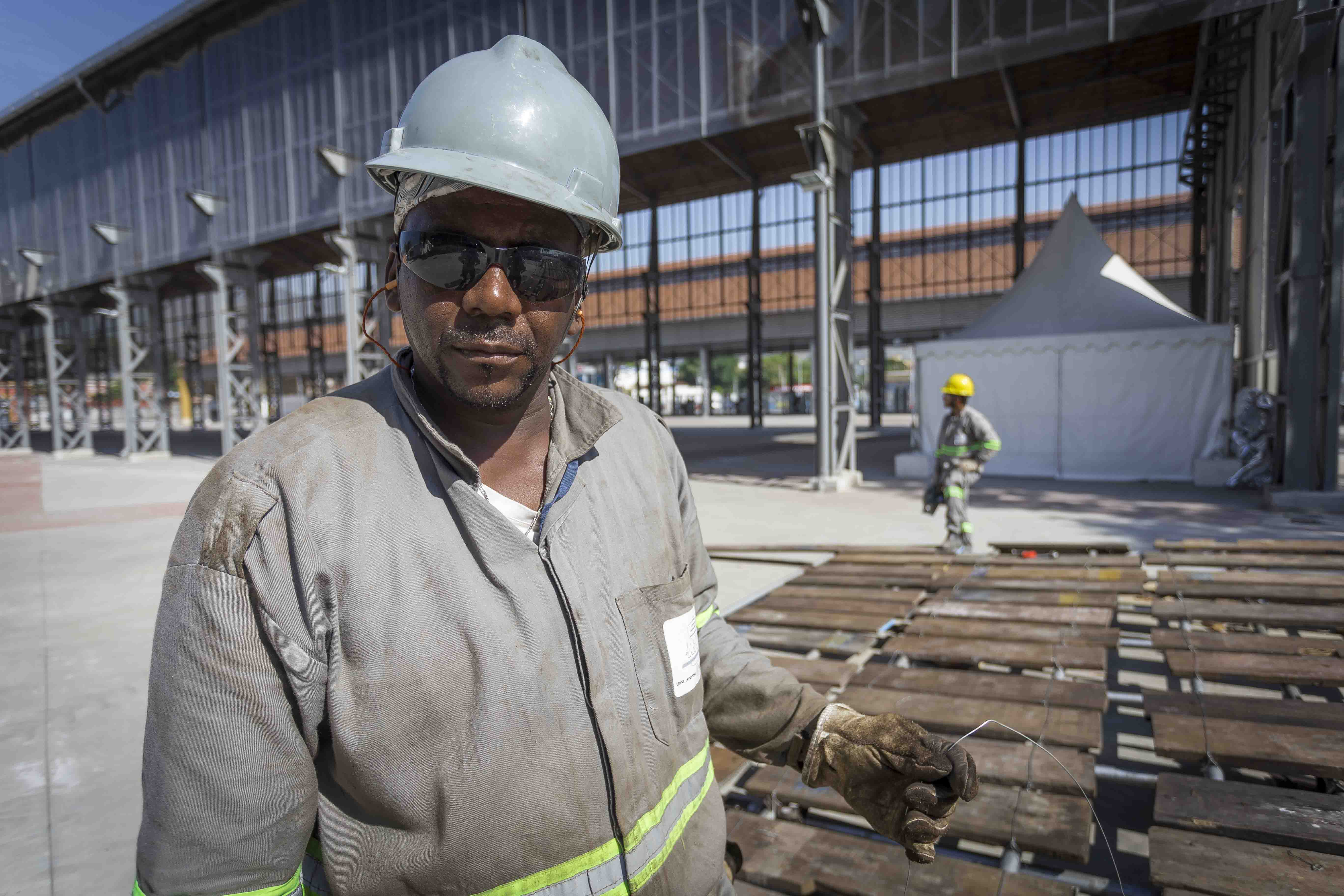 Trabalhadores Construção civil