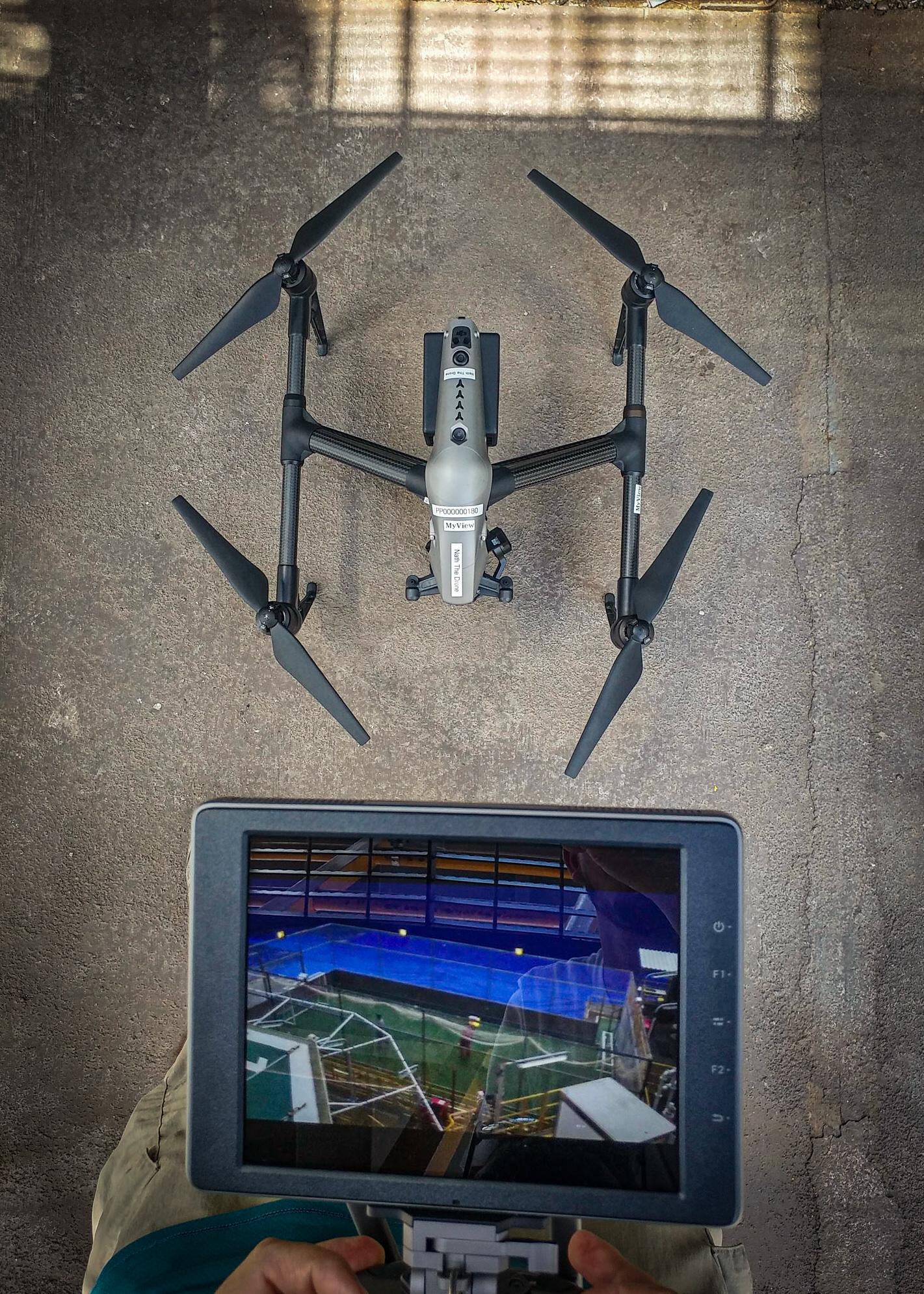 Drone com monitoração HD