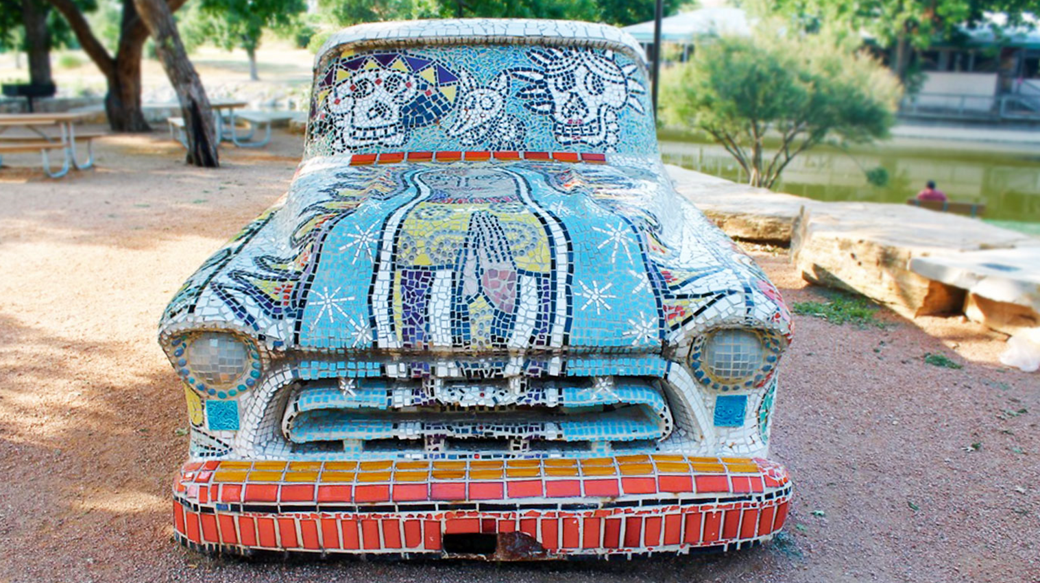 Mosaic Truck