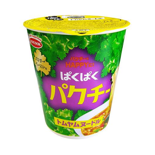 パッケージデザイン ぱくぱくパクチー トムヤムヌードル