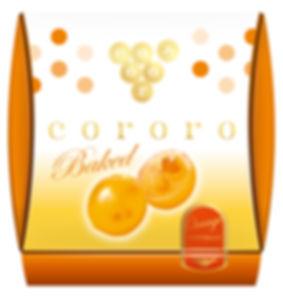 パッケージデザイン cororo ベイクドオレンジ