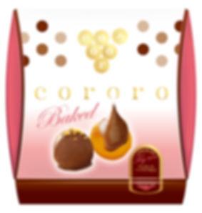 パッケージデザイン cororo チョコレートベイクドいちじく