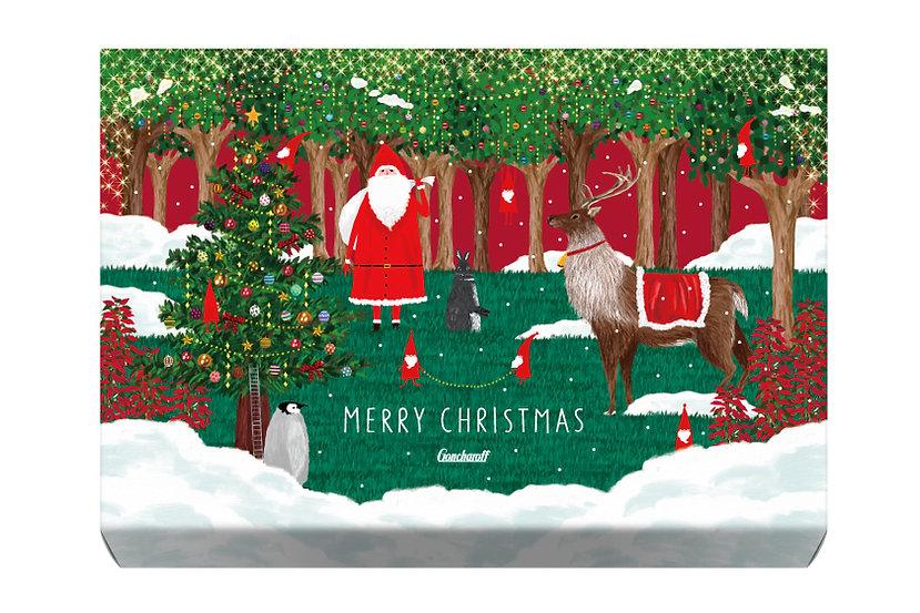 パッケージデザイン 2017クリスマス コルベイユ