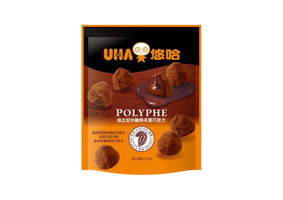 パッケージデザイン UHA味覚糖 チョコレート