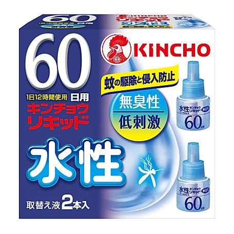 パッケージデザイン 水性キンチョウリキッド 取替え液