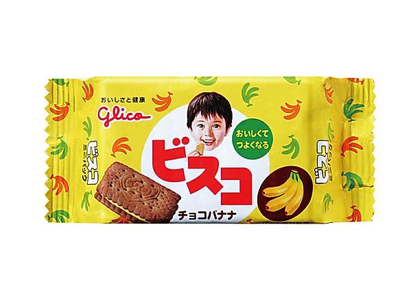 パッケージデザイン ビスコ チョコバナナ