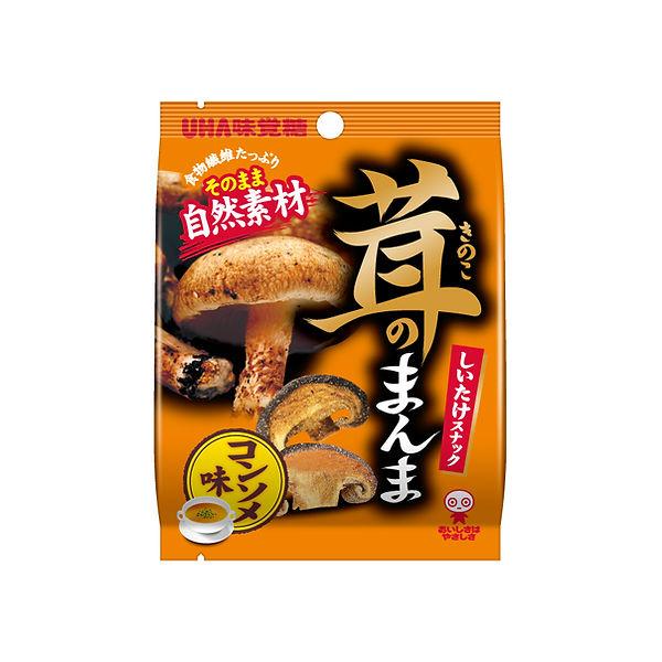 パッケージデザイン 茸のまんま コンソメ味
