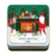 パッケージデザイン 2018クリスマス チョコ缶