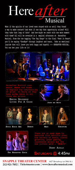 Hereafter Musical Poster [Front]