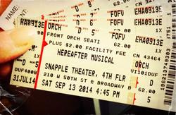 Snapple Tickets