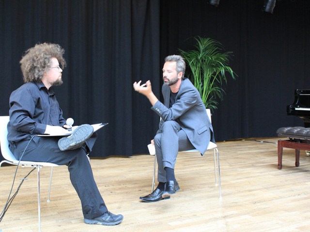 Interview at Göteborg International Piano Festival, 2017