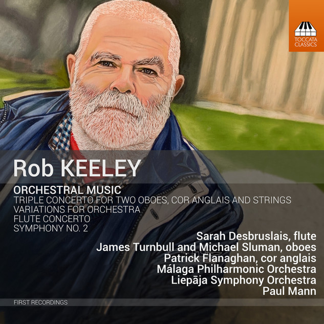 TOCC 0462 Keeley orchestral music cover