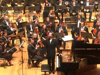 With Slovenian Philharmonic