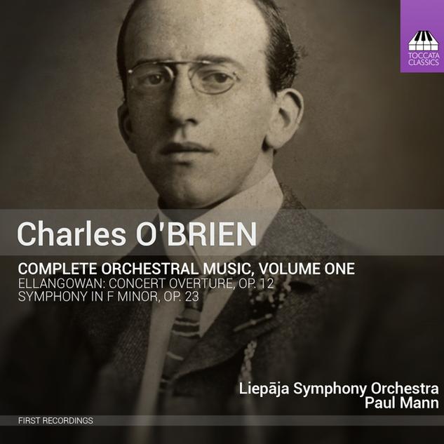 TOCC 0262 O'Brien orchestral music Vol.