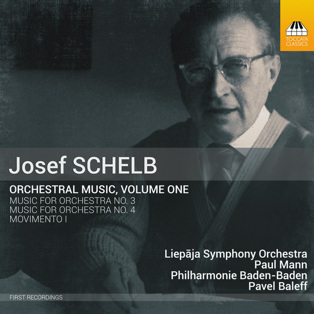 TOCC 0426 Schelb orchestral music Vol. 1