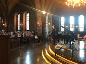 Recital at Trelleborg Piano Festival