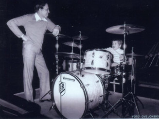 With Buddy Rich