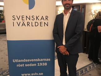 Celebrating the Svenskar i Världen award