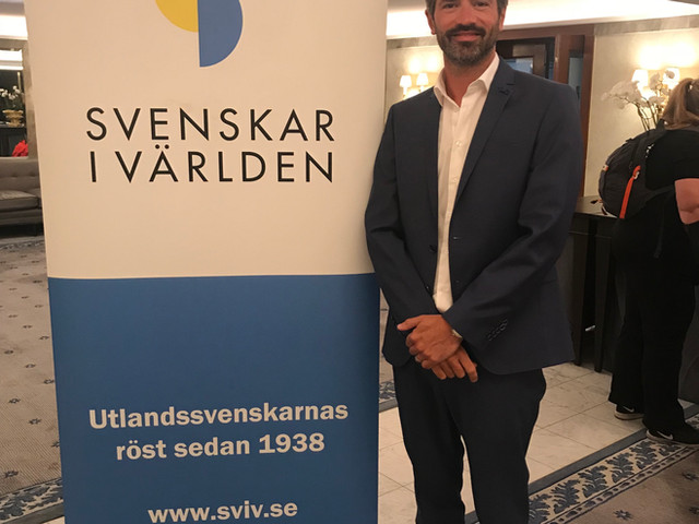 Celebrating the Svenskar i Världen award