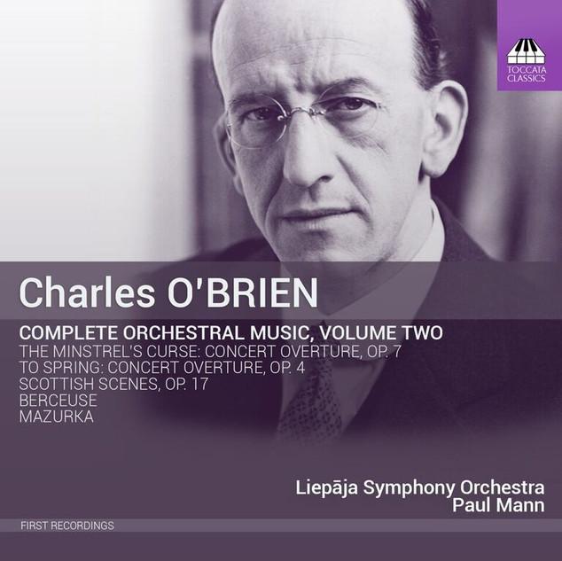 TOCC 0263 O'Brien orchestral music Vol.