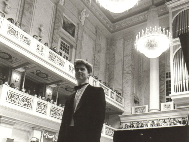 With Deutsches Symphonie Orchester Berlin 1990
