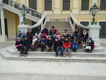 Sortie au château de Schönbrunn