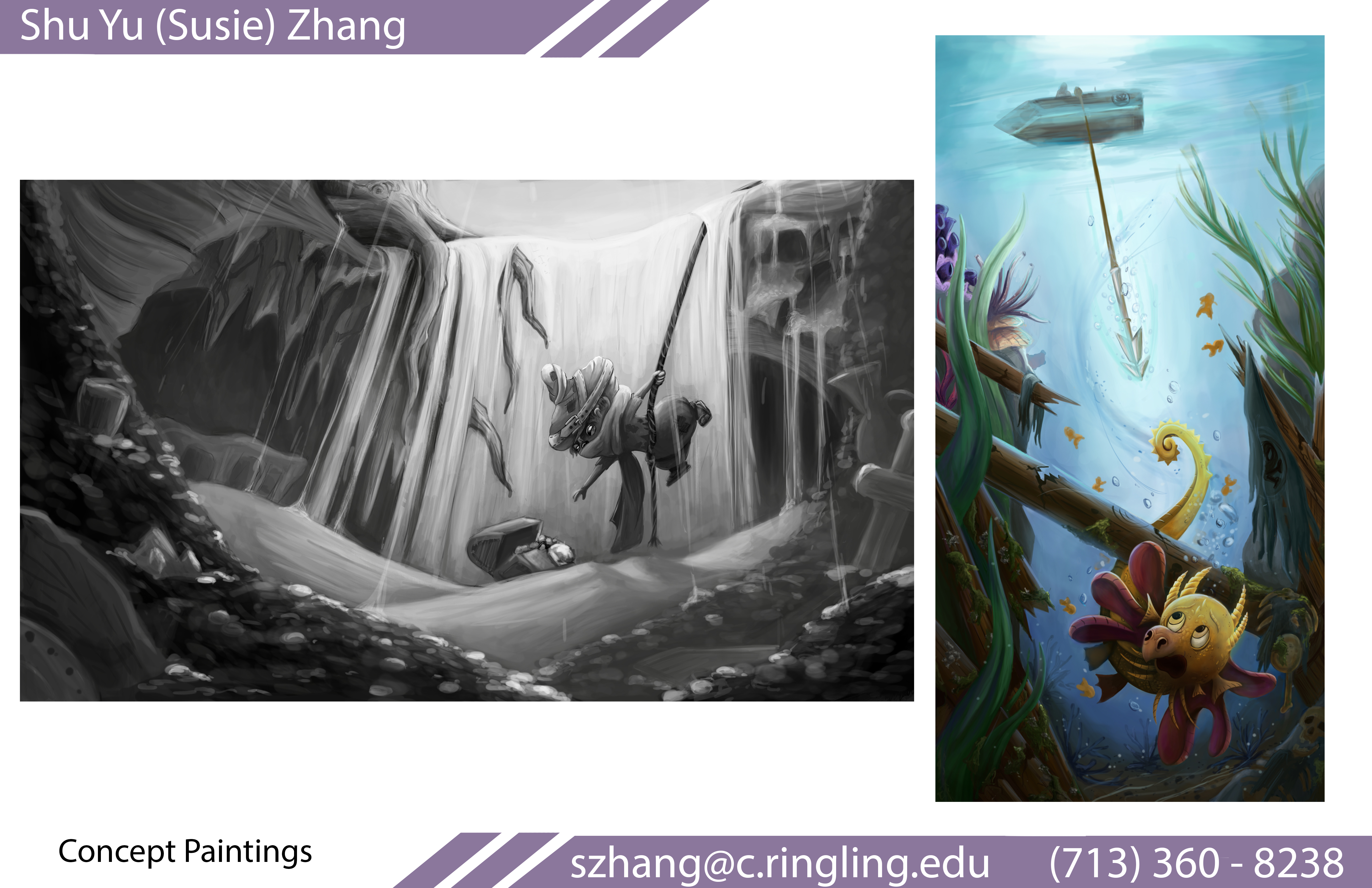 Concept Paintings