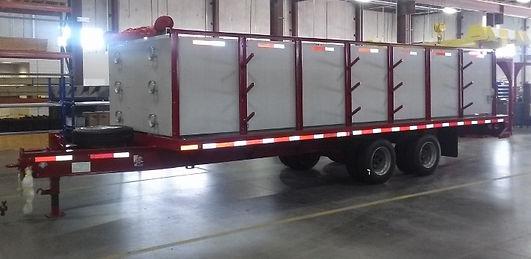 Pearl Fire Emergency Response Fire Fighting Hose Trailer